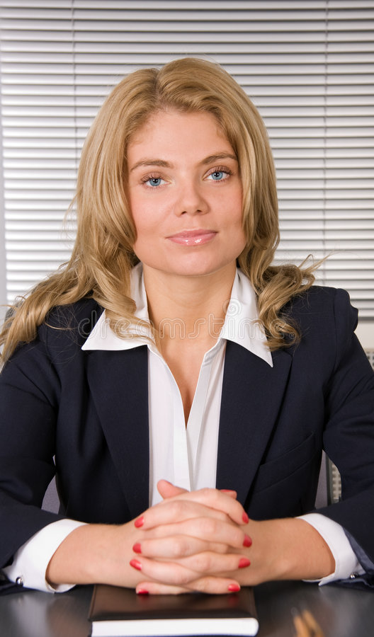 Download Businesswoman With Daily Planner Stock Image - Image: 7356215