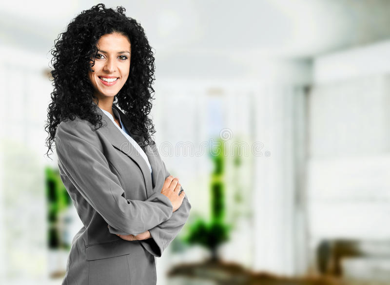 Download Businesswoman portrait stock image. Image of brunette - 25306483