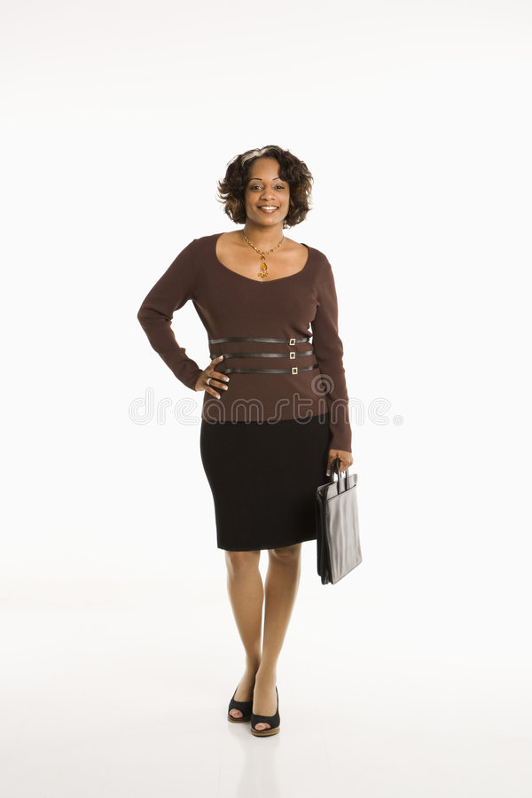 Businesswoman portrait. royalty free stock photo