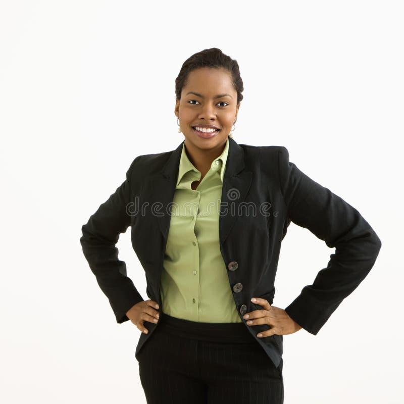 Businesswoman portrait. royalty free stock photos