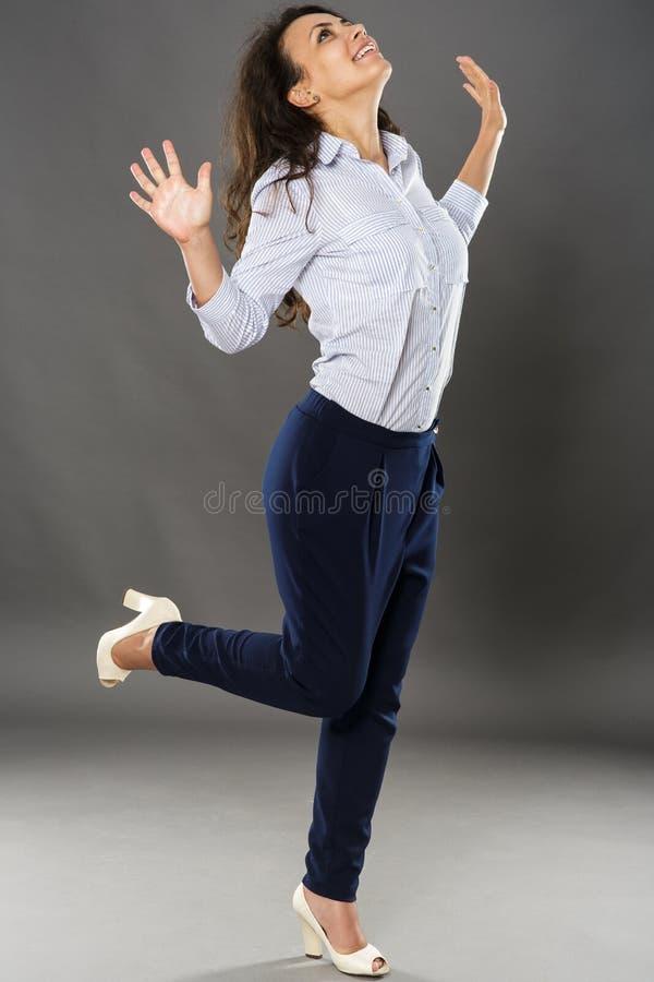Download Businesswoman radosny zdjęcie stock. Obraz złożonej z bizneswoman - 65226532