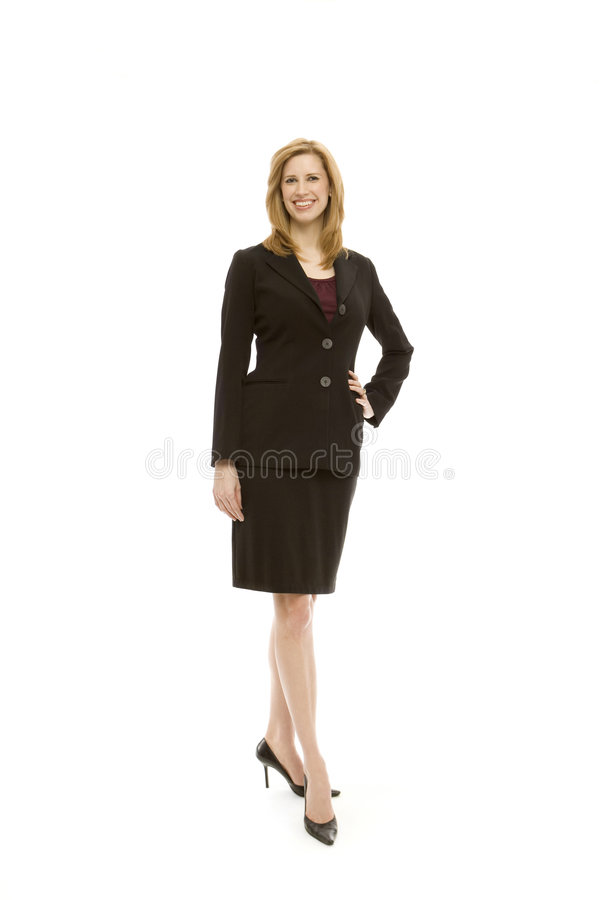 Download Businesswoman stands stock image. Image of office, hair - 2386001