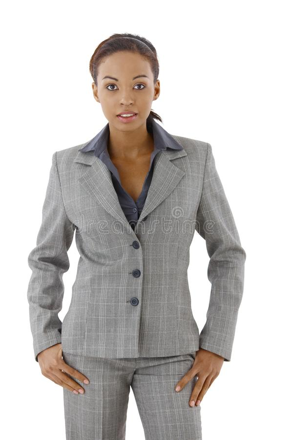 Download Businesswoman in suit stock image. Image of fancy, background - 21534981