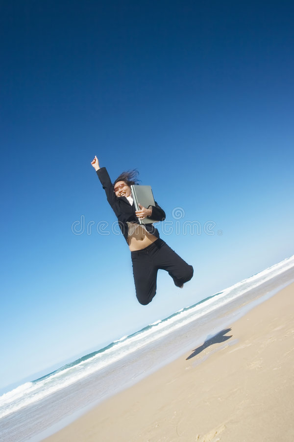 businesswoman sukces zdjęcie stock