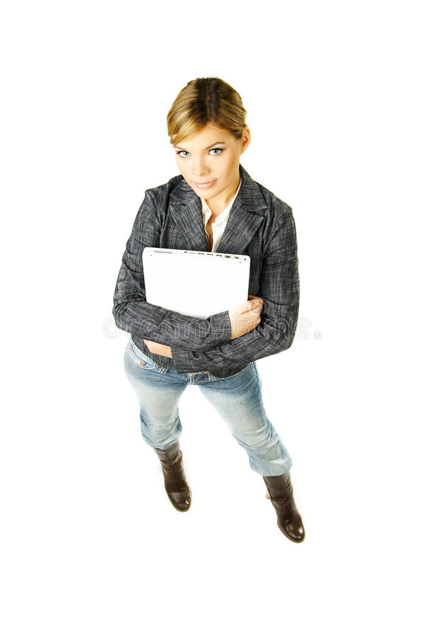 Businesswoman From Top Stock Image