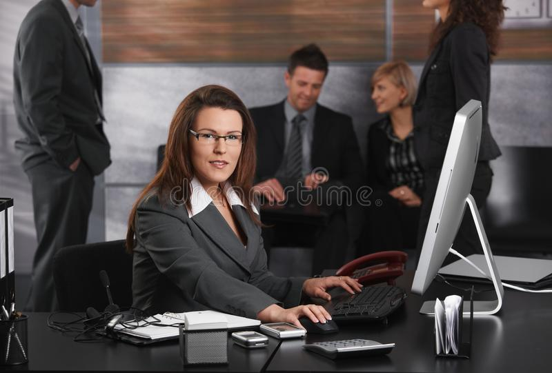 Download Businesswoman Using Computer Stock Images - Image: 25641984