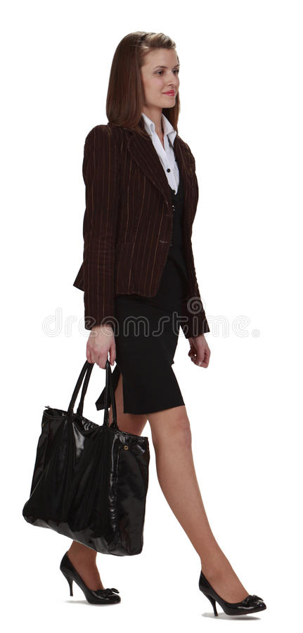Download Businesswoman walking stock photo. Image of woman, walking - 17369602