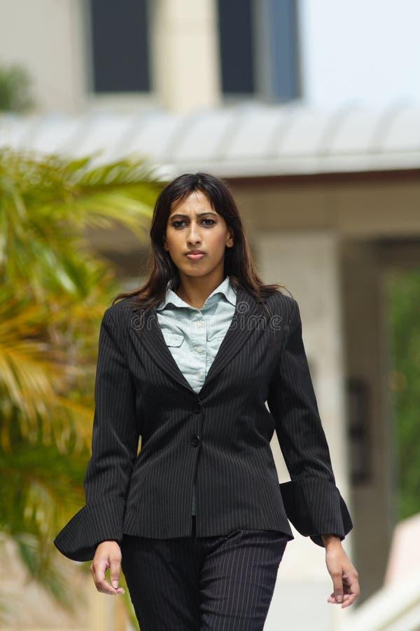 Businesswoman Walking stock image