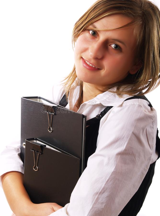 Businesswoman At Work Free Stock Photography