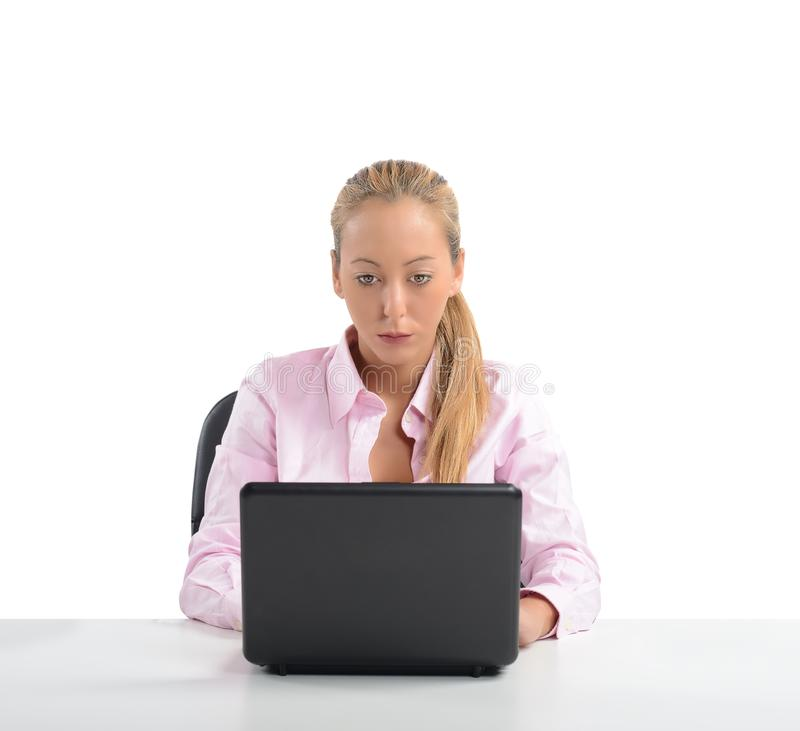 Businesswoman work stock photography