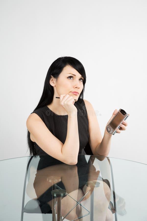 businesswoman working στοκ φωτογραφία με δικαίωμα ελεύθερης χρήσης
