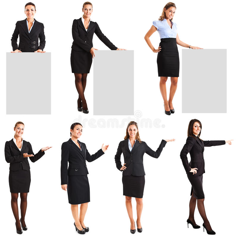 Businesswomen royalty free stock photo