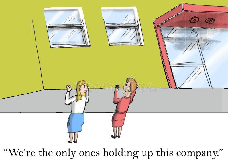 Businesswomen vector illustration