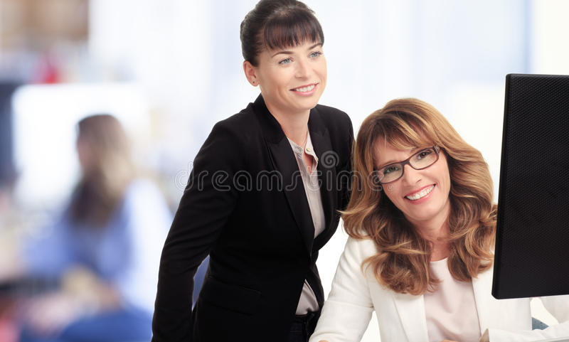 Download Businesswomen Working In Office Stock Photo - Image: 31643006