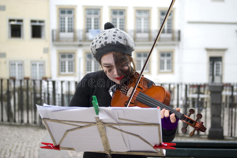 Download Busker editorial photography. Image of enjoyment, coimbra - 17338502