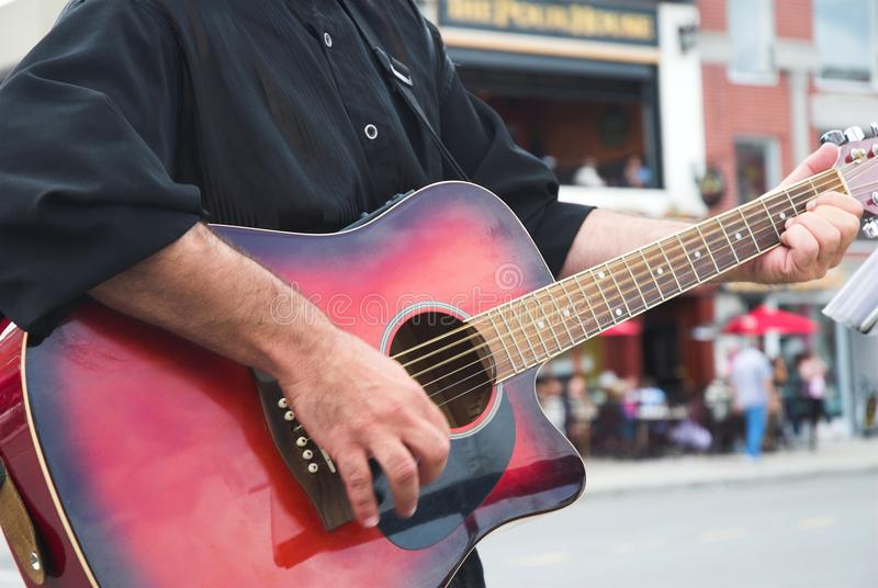 Busker Royalty Free Stock Photography
