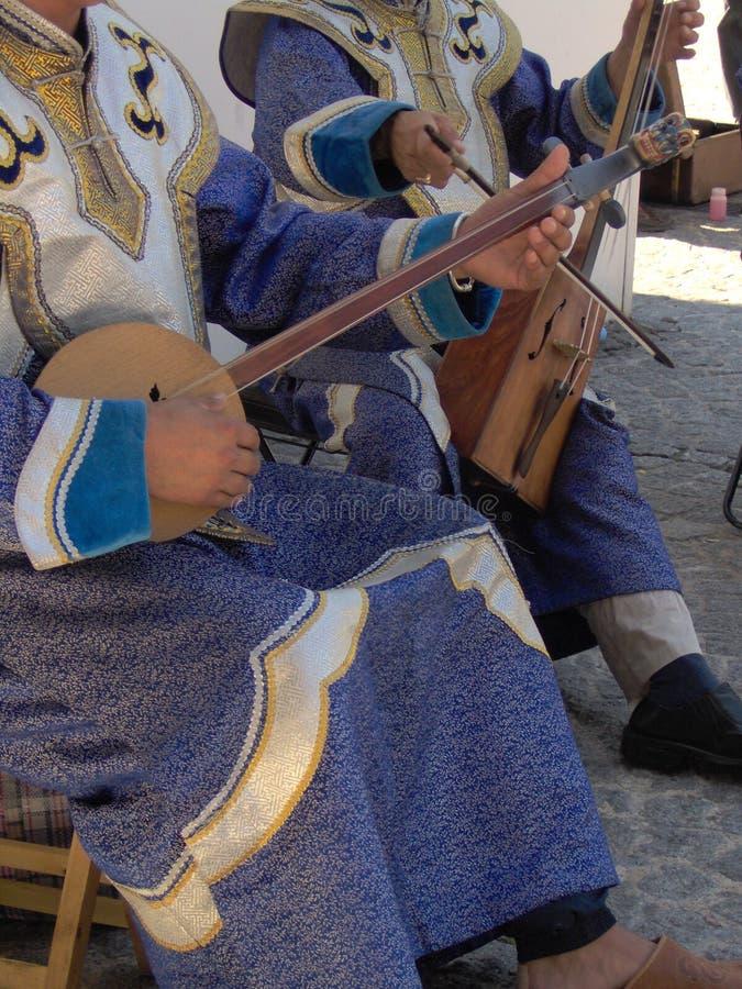 Download Buskers fotografia stock. Immagine di colorful, mongol - 221340
