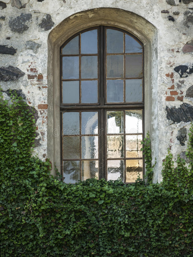 Buskow-Kirchenfenster royalty-vrije stock afbeelding