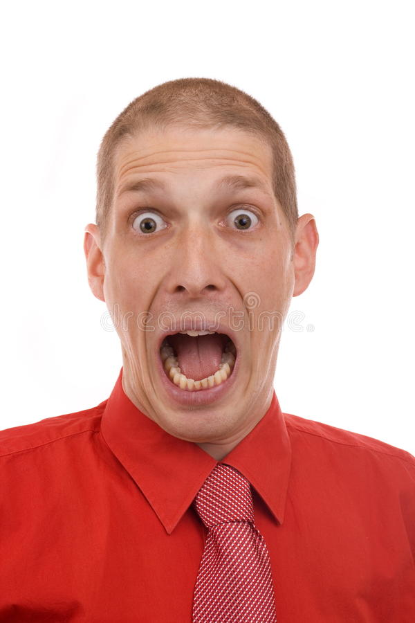 Download Busness man screaming stock photo. Image of frustrated - 17182218