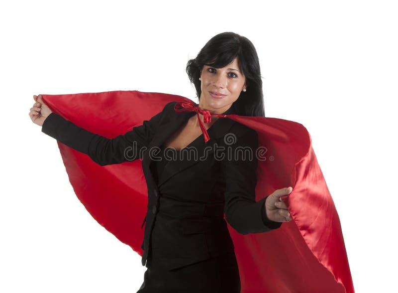 Busnesswoman de mouche image libre de droits