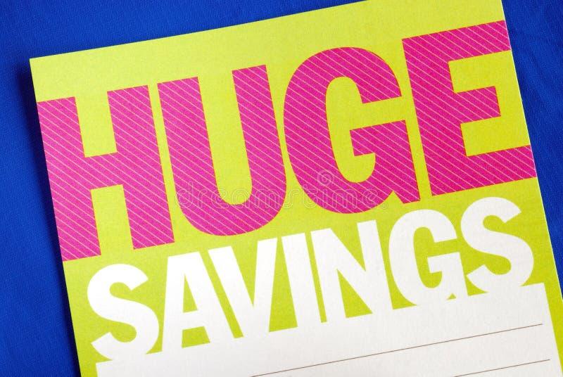 Busque las ideas enormes de los ahorros fotos de archivo libres de regalías