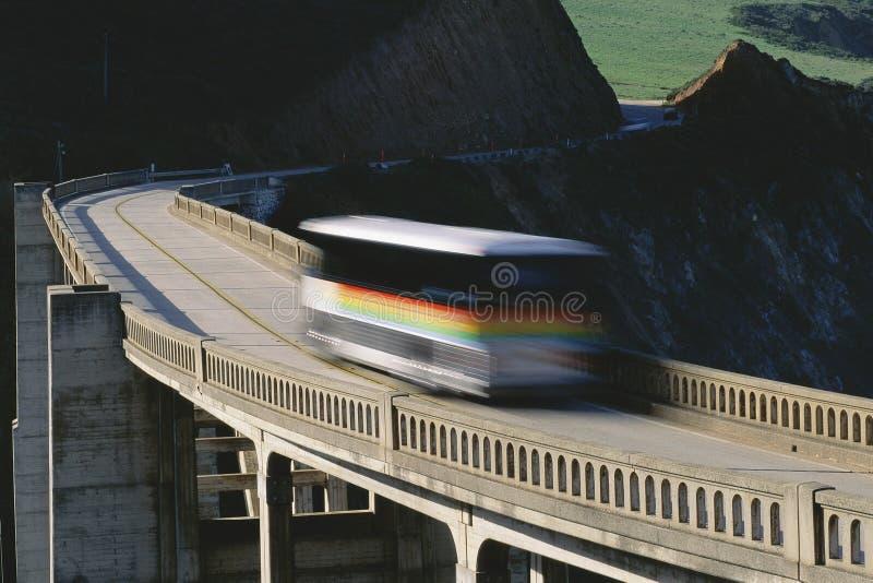 Busreisen lizenzfreie stockfotografie