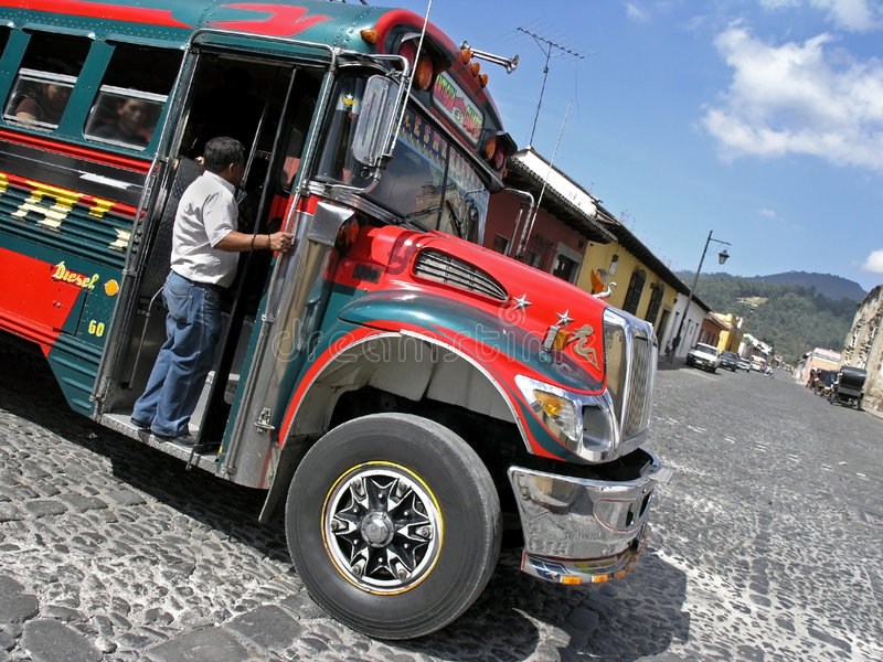 buss arkivfoto