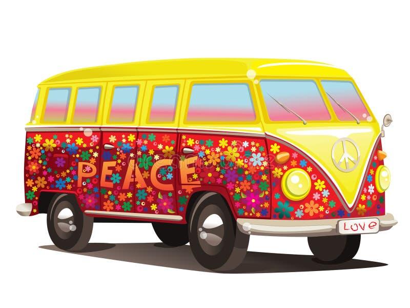 buss vektor illustrationer