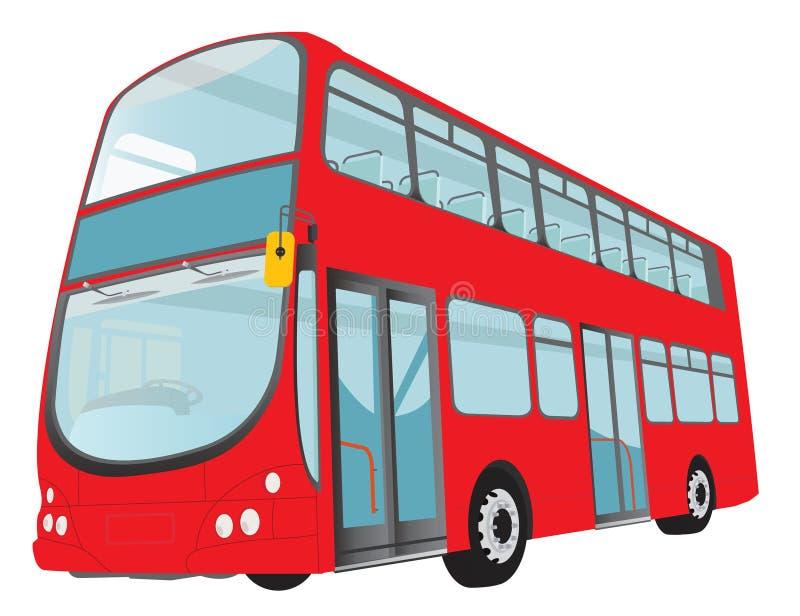 buss london vektor illustrationer