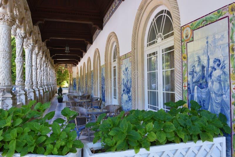 bussaco pałac Portugal obraz stock