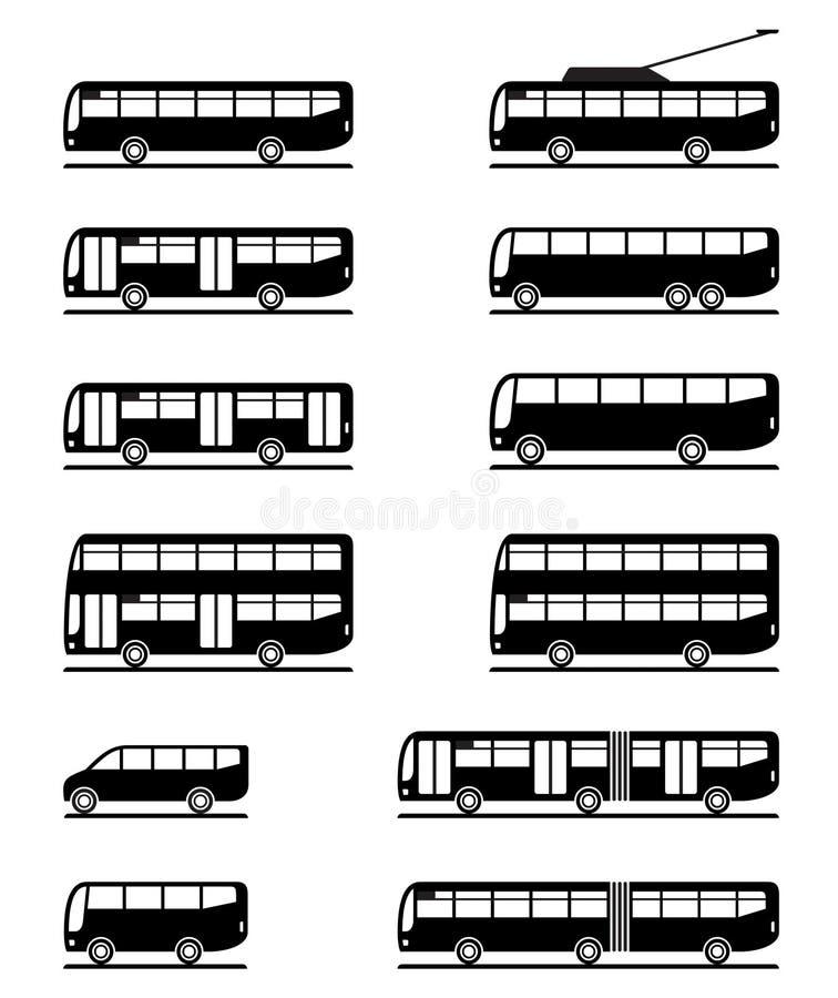 Busse Und Trainer Stockfotografie