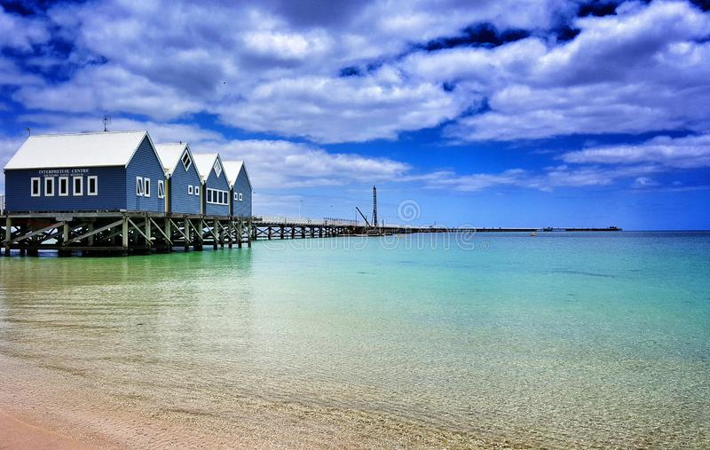 Busselton Jetty fotografia de stock royalty free