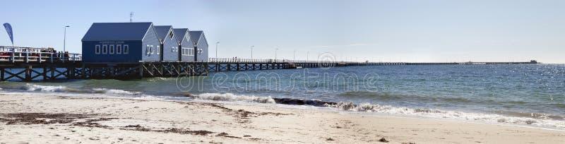 busselton jetty obraz stock