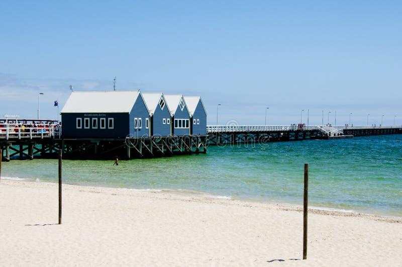 Busselton Jetty - Australia obrazy stock