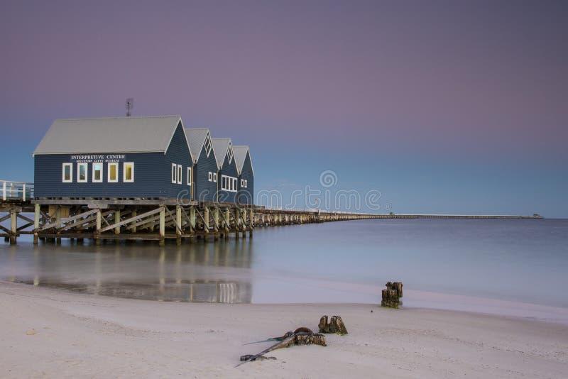Busselton jetty obrazy royalty free