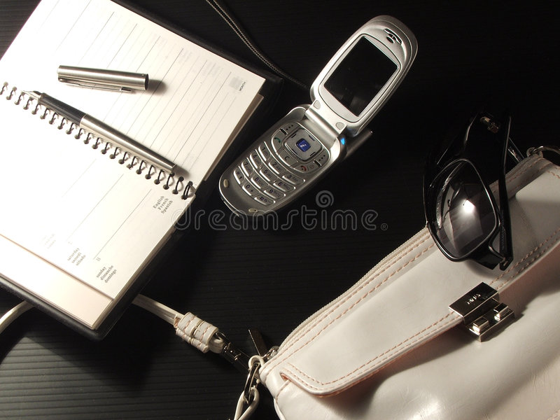 Bussines accessories stock image