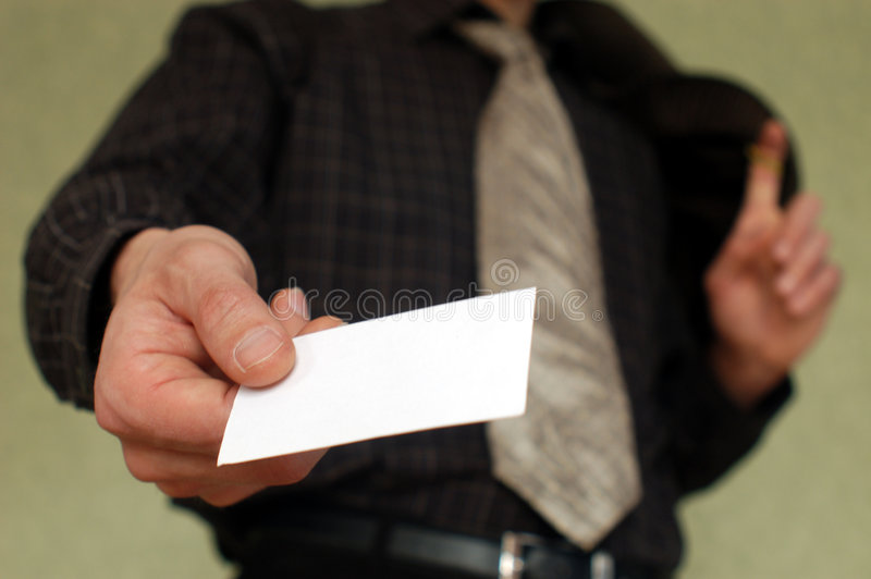 Download BUSSINES-CARD stock image. Image of document, information - 2115683