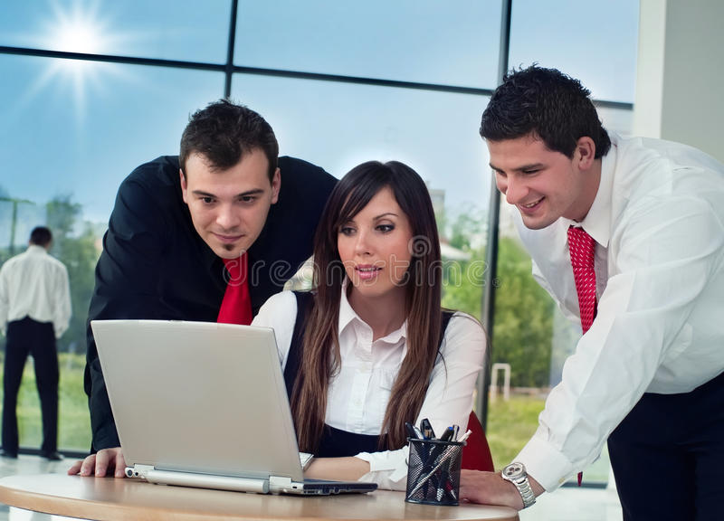 Bussinespeople royalty free stock image