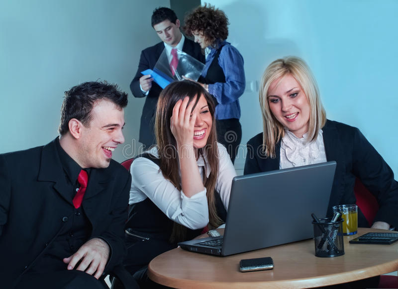 Bussinespeople royalty free stock photography