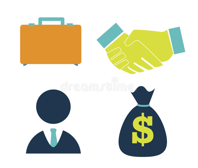 Download Bussiness stock vector. Image of flat, invest, briefcase - 38545049