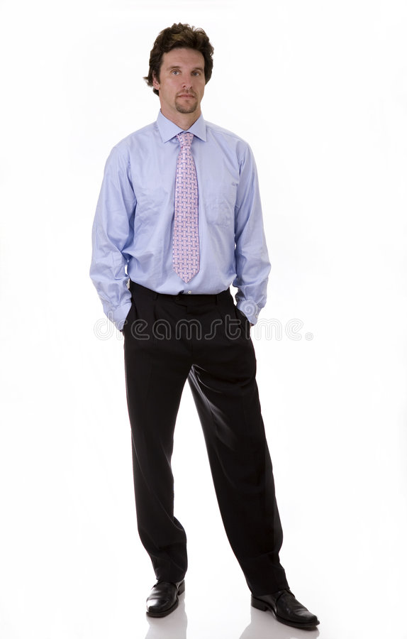 Bussiness man stock photo