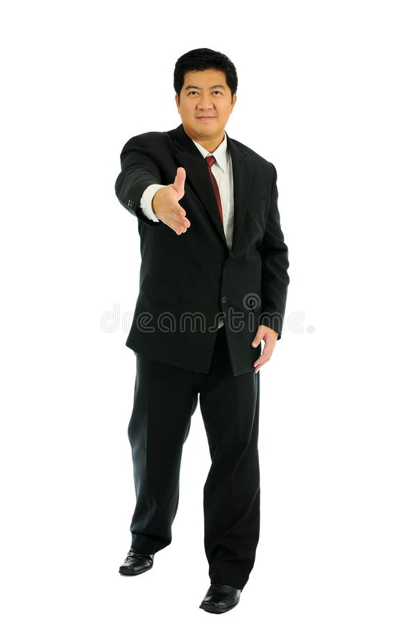Bussinessman Agree Royalty Free Stock Photos