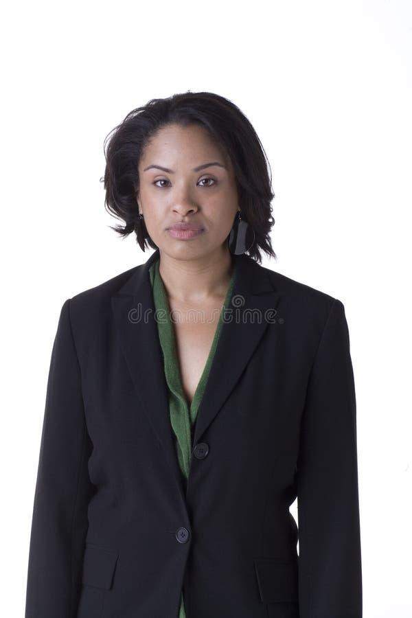 Bussinesswoman confiável imagens de stock royalty free