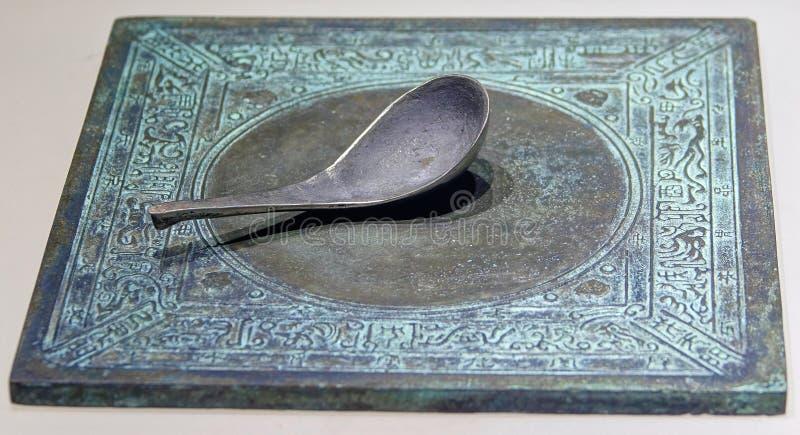 Bussola antica fotografia stock