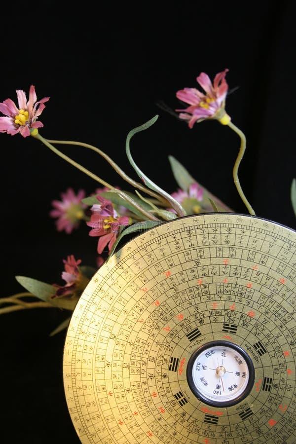 Bussola Di Feng Shui Fotografia Stock Libera da Diritti