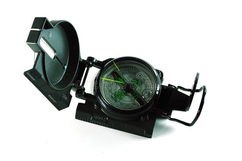 Bussola magnetica immagine stock libera da diritti