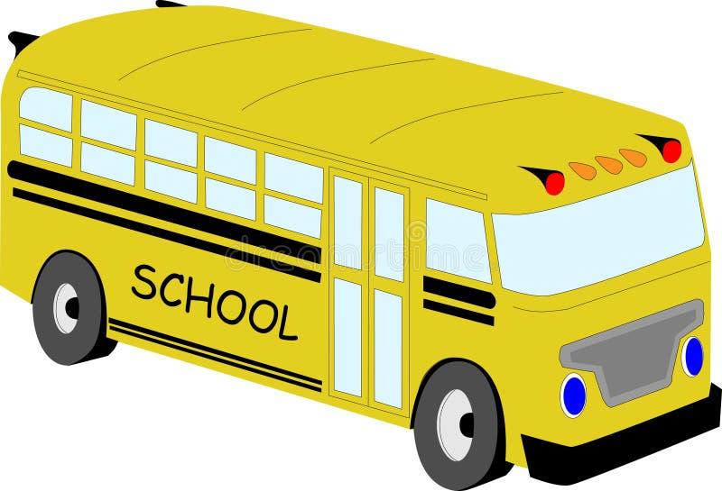 bussskolayellow arkivbild
