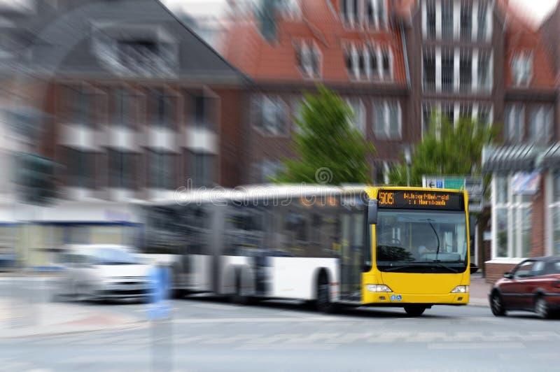 bussstad arkivfoton