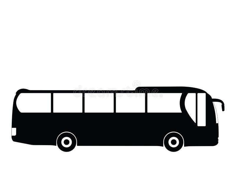 bussvektor royaltyfri illustrationer