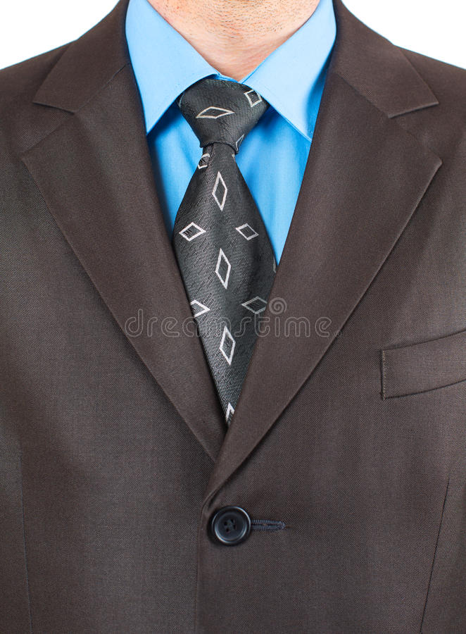 Bust Of A Businessman Royalty Free Stock Photography